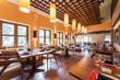 canvas print picture - Fashion stylish restaurant interior