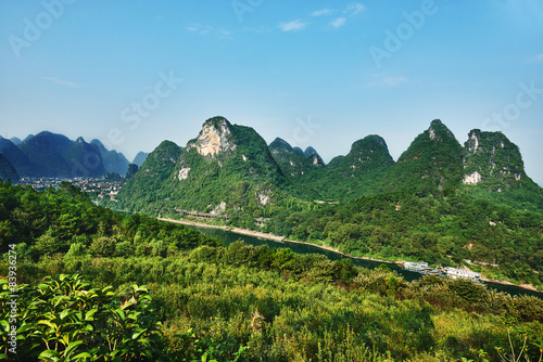 Foto op Canvas Guilin Guilin Yangshuo Guangxi China