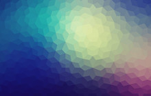 Geometric Pattern With Triangles. Vector