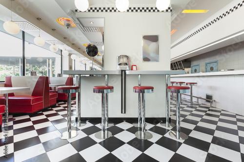 Fotografie, Obraz  american diner restaurant