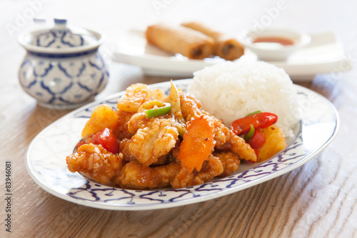 Photo  Sweet and Sour Chicken