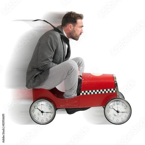 Fotografie, Obraz  Race against time