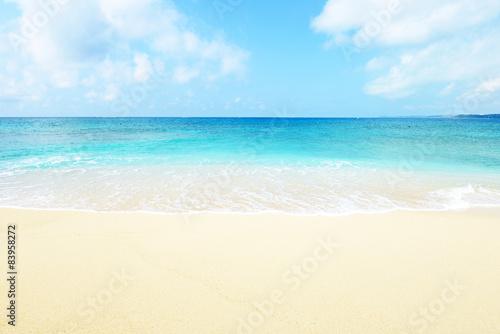 Fototapeta 沖縄の美しいビーチ obraz