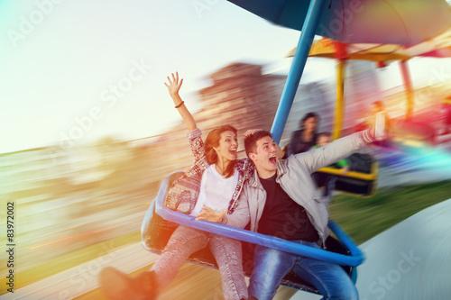 Poster Attraction parc Selfie