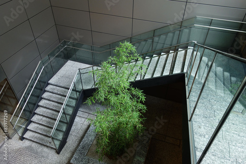 Foto op Canvas Trappen 階段