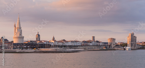 Poster Antwerpen Panorama sur La Rochelle