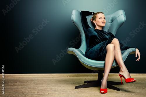Fotografie, Obraz  elegant businesswoman