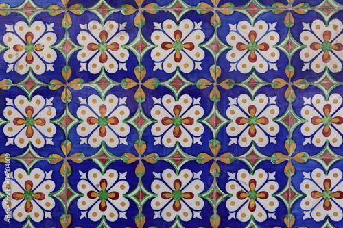 Foto auf Leinwand Marokkanische Fliesen Azulejos de Lisbonne