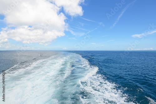 Foto op Aluminium Zee / Oceaan 久高島の綺麗な海と夏空