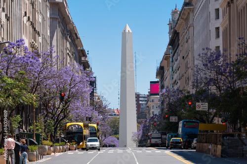 Door stickers Buenos Aires Obelisco (Obelisk), Buenos Aires Argentinien