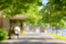 Blurred Photo Of A City Street