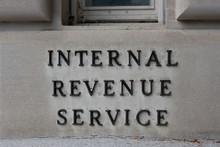 IRS Headquarters Sign