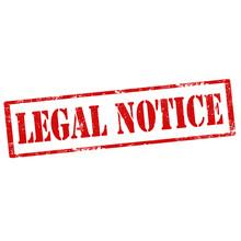 Legal Notice-stamp