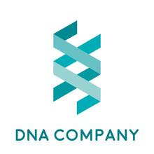 Vector Logo DNA And Genetics