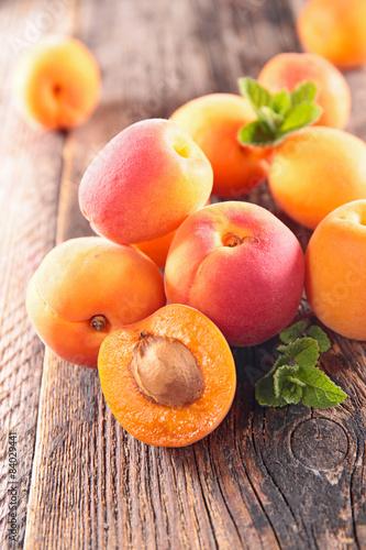 Leinwand Poster apricot