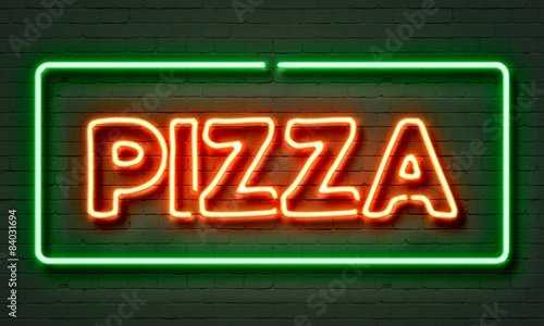Pizza neon sign - 84031694
