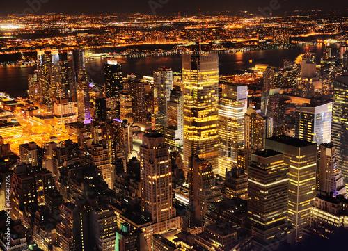 Fotografie, Obraz  New York City at night