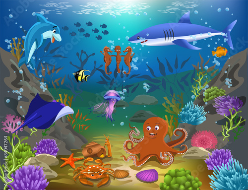 kreskowka-morskie-zycie