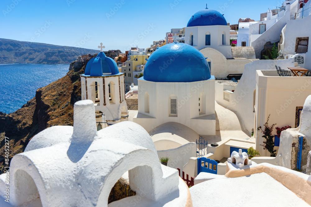 Fototapeta Santorini Island Greece