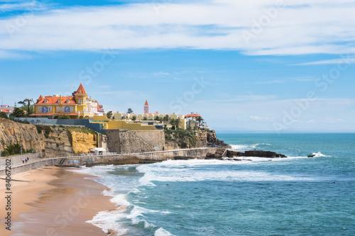 Estoril coastline near Lisbon in Portugal