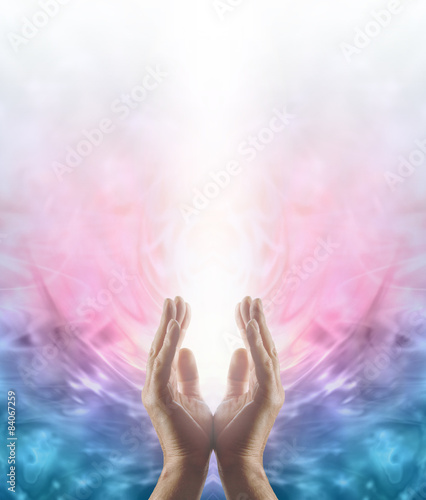 Photo  Beaming Reiki Healing Energy
