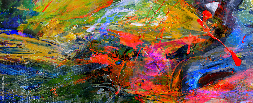 Fototapeta Oil Painting