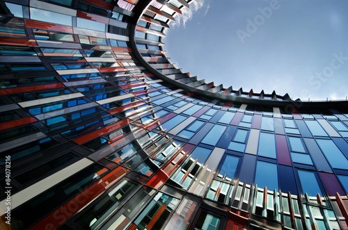 Obraz na płótnie modern architecture