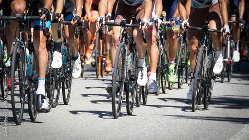 Ingelijste posters Fietsen corsa ciclistica