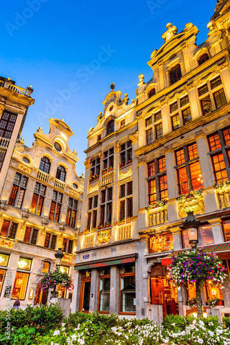 Grand Place night, Bruxelles, Belgium