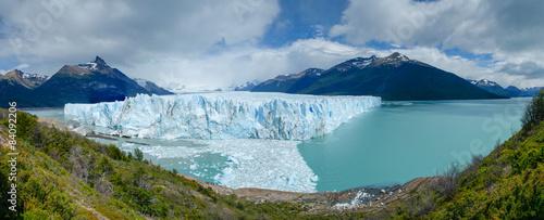 Poster Glaciers Perito Moreno Glacier panorama, lago Argentino