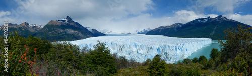 Printed kitchen splashbacks Glaciers Perito Moreno Glacier panorama