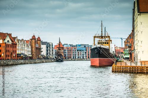 Cityscape of Gdansk