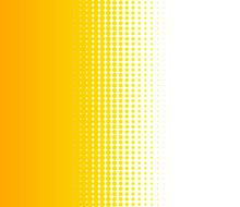 Verlauf Von Punkten Als Hintergrund Orange Und Weiss