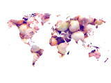 Mapamundi cebollas (world map onions) - 84107067