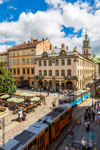 Recess Fitting Nice Lviv historic center of Ukraine