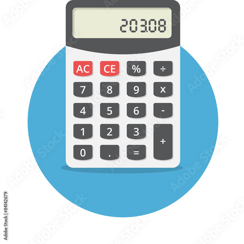 Fotografía  Electronic calculator