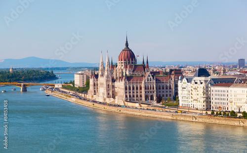 Aluminium Prints Budapest Hungarian parliament in Budapest, Hungary