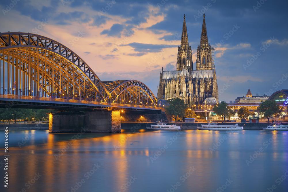 Fototapety, obrazy: Cologne, Germany.
