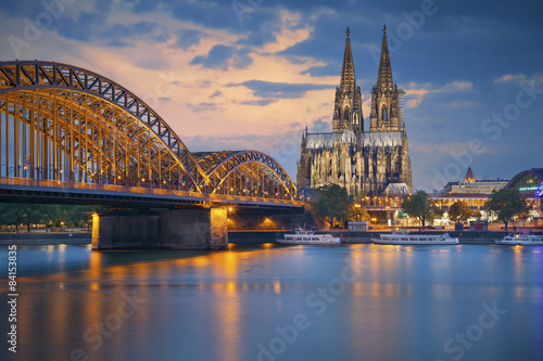 Cologne, Germany. Plakát