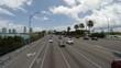 Driving in Miami, Florida