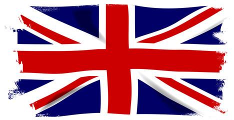 Panel Szklany Podświetlane Londyn Union Jack Grunge