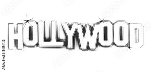 Canvas-taulu Hollywood