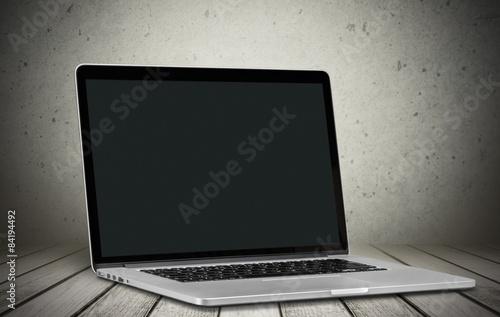 Fotografia  Laptop, notebook, modern.
