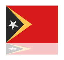 Reflection Flag East Timor