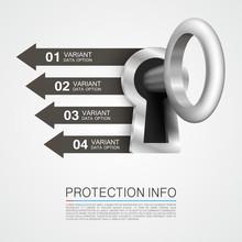 Protection Info Art Key Banner