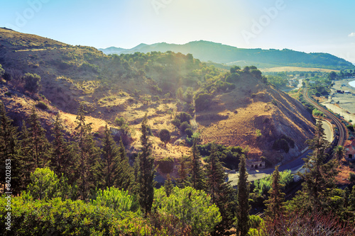 Photo  Calabrian landscape