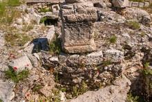 Ruins Temple Of Serapis In Jerusalem