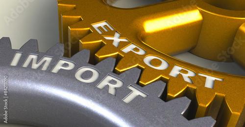 Valokuva  Export Import Export