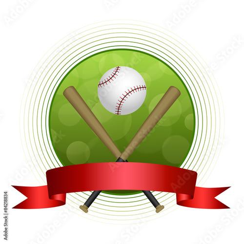 1c0472098e40 Background green baseball sport ball circle red tape frame - Buy ...