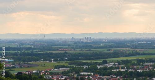 Mannheim Skyline